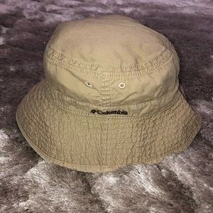 Columbia Khaki Outdoors Fishing Bucket Hat L/XL